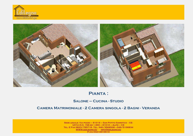 Catalogo linea rustica case in legno edilegno for Case in bioedilizia prezzi