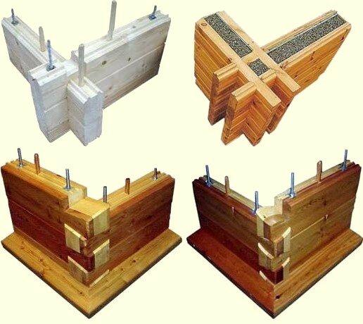 Elementi costruttivi case in legno edilegno bioedilizia for Case di tronchi di blocchi di legno